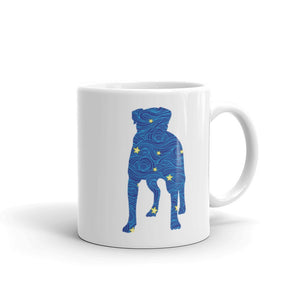 Dog Standing Coffee Mug One