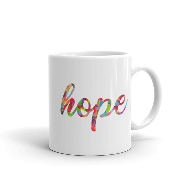 hope inspirational quotes watercolor coffee mug inspirational