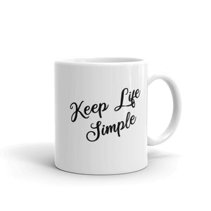 Keep Life Simple Coffee Mug One