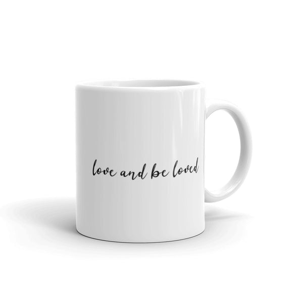 Love And Be Loved Coffee Mug One