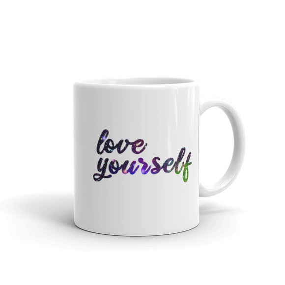 Love Yourself Coffee Mug One