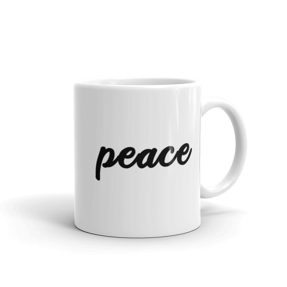 Peace Coffee Mug One
