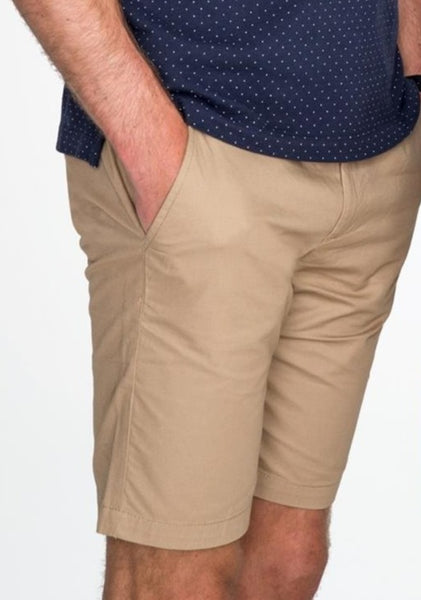 Luxury Chestnut Chino Short Italian Pocket Summer Essential