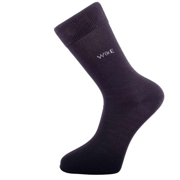 14-Pack Black Men's Smart Breathable Luxury Cotton Socks Eco-Friendly From Recycle Cotton