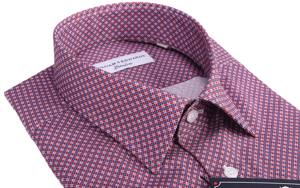 Formal Shirt Luxury Casual Retro  Cat Eye  Print Slim Fit Shirt Limited Edition