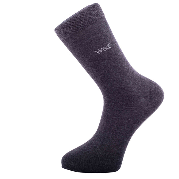 14-Pack Antracite Men's Smart Breathable Luxury Cotton Socks Eco-Friendly From Recycle Cotton