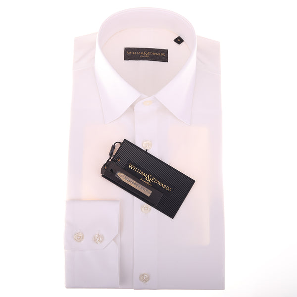 Soktas Egyptian Cotton Non Iron Luxury White  Poplin  Shirts