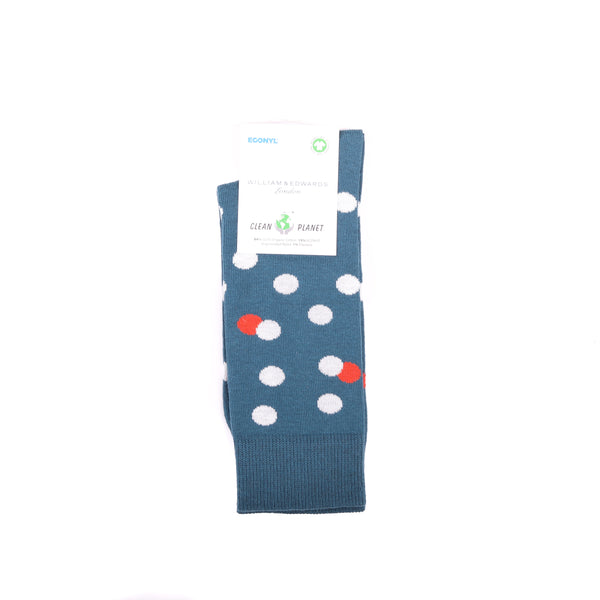 Econyl Organic Socks  Green Dot This Socks Help to clean Planet