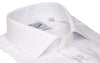 White Poplin Easy Care Slim Fit  Semi Cutaway Dress Shirt