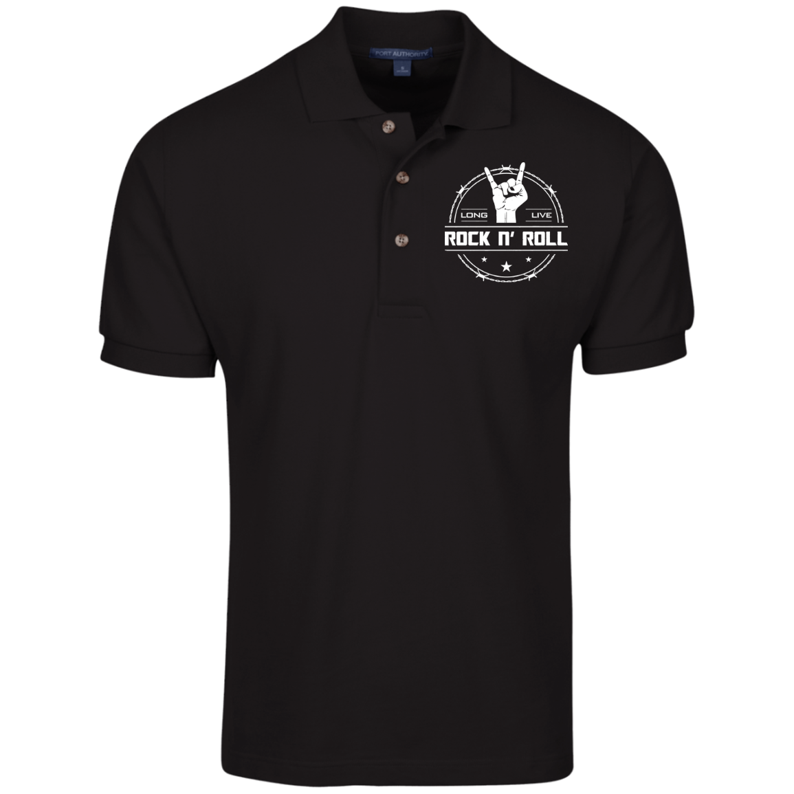 cool long live rock and roll polo shirt