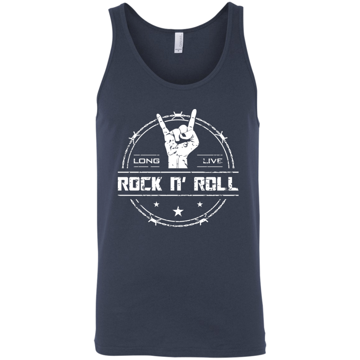 cool long live rock and roll tank top