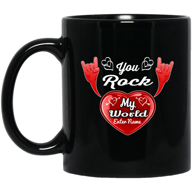 cool you rock my world coffee mug