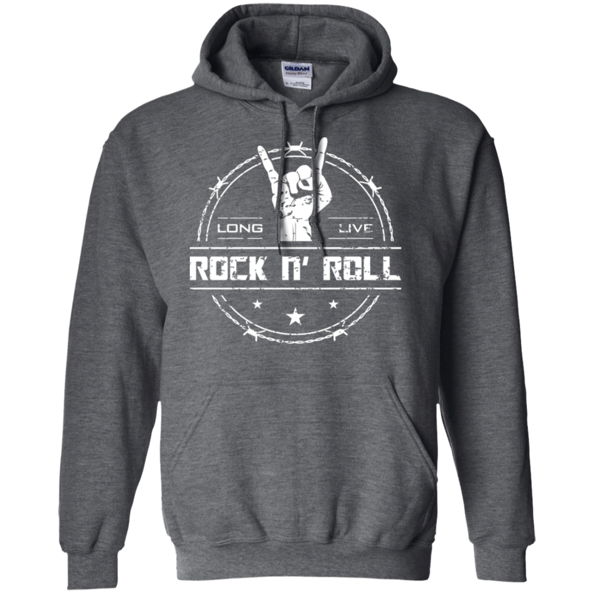 cool long live rock and roll hoodie