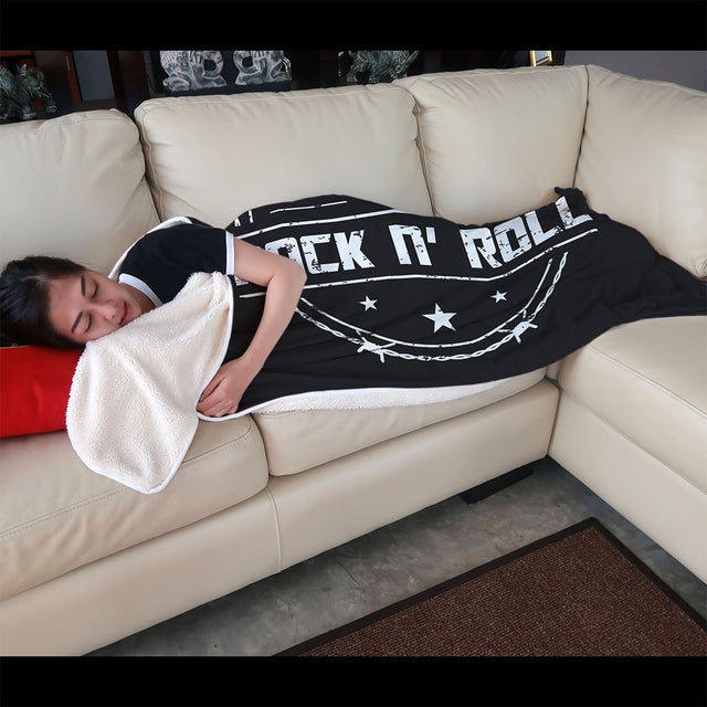 cool long live rock and roll blanket