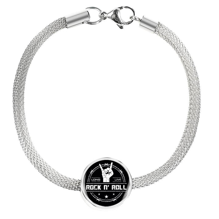 cool long live rock and roll bracelet