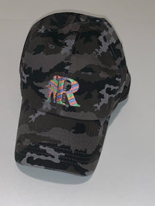 Camouflage adjustable cap (black)