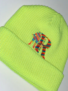 Regulators Nation Cuff Beanie (NEON)