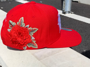 RED Concrete Rose SnapBack
