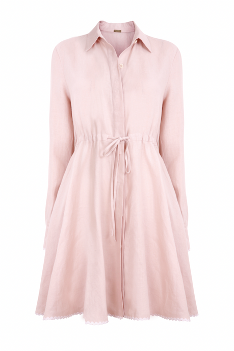 Amalfi Short Dress in Pink