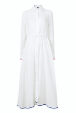 Load image into Gallery viewer, Amalfi Long Dress in White