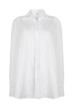 Load image into Gallery viewer, Boyfriend Shirt in White