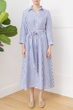 Load image into Gallery viewer, St Tropez Shirt Dress Striped