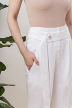 Load image into Gallery viewer, Nomade Suit Trousers in White