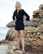 Load image into Gallery viewer, Portofino Playsuit in Black