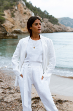 Nomade Suit Jacket in White