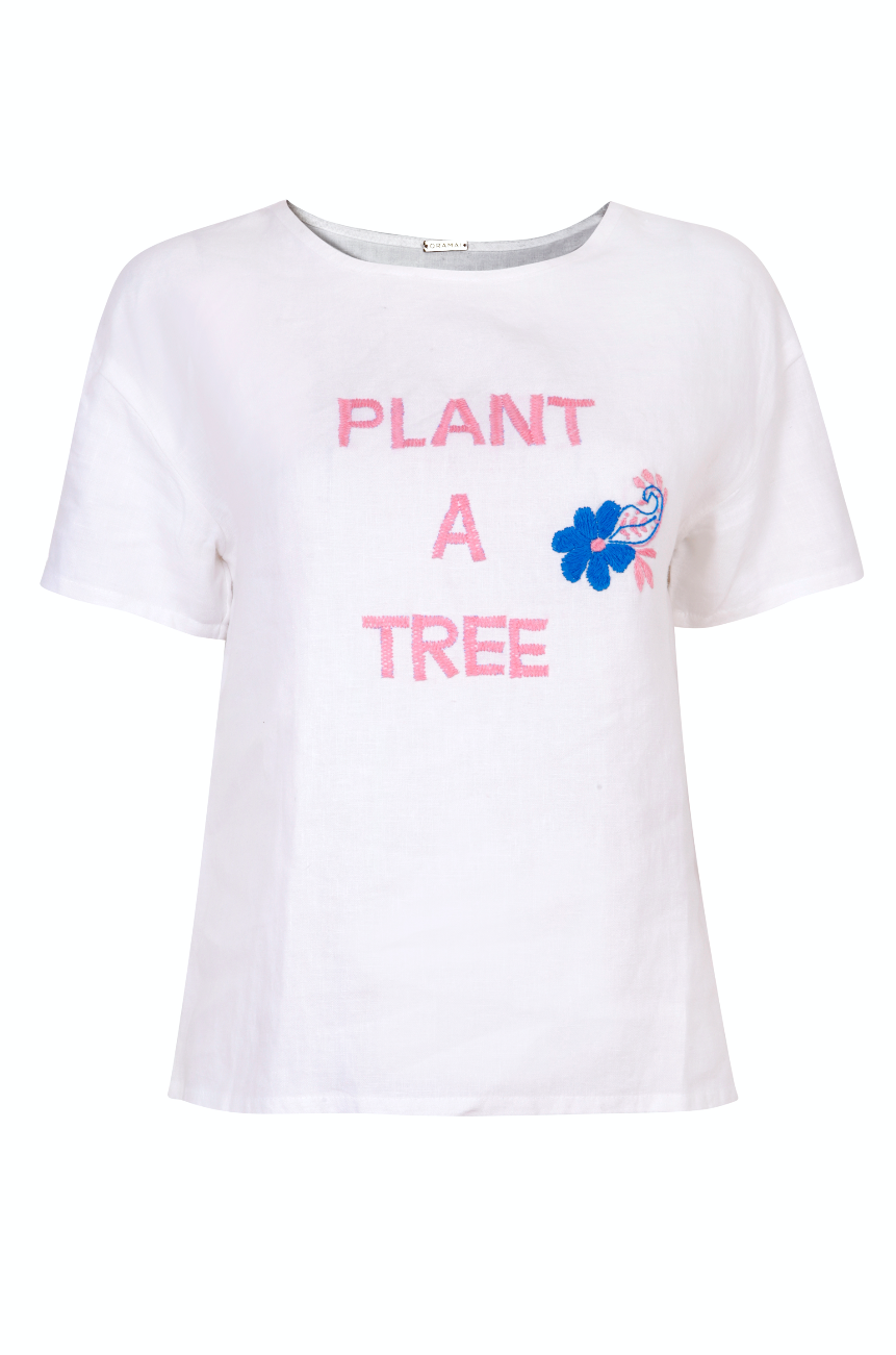 #PlantATree T-Shirt Blush