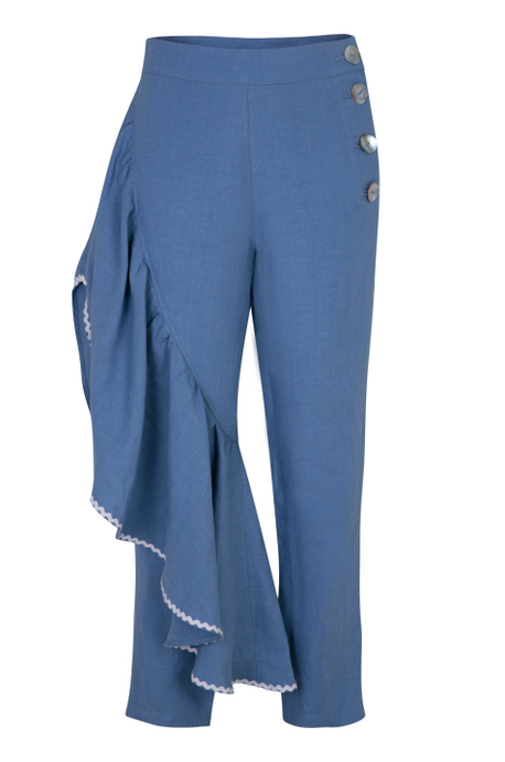 CARTAGENA LINEN TROUSERS