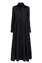 Amalfi Long Dress in Black