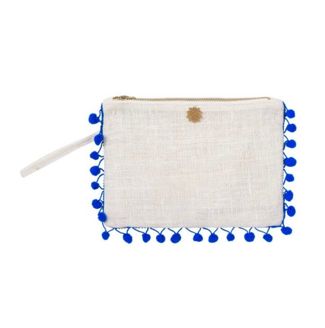 THE MINI POM POM CLUTCH