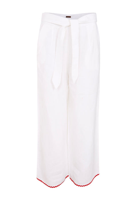 Ibiza Set Trousers in White