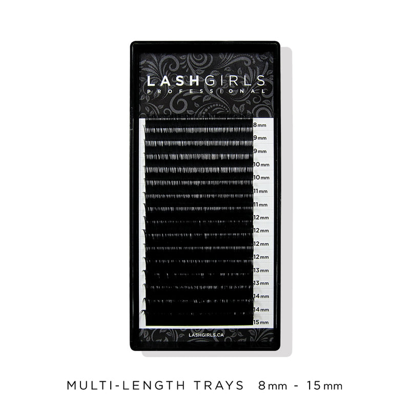 MULTI-LENGTH TRAYS