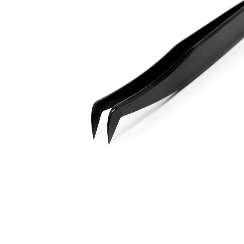 Black Volume Tweezers - Boot
