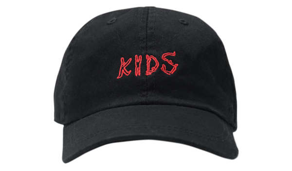 KIDS EMBROIDERED HAT INK