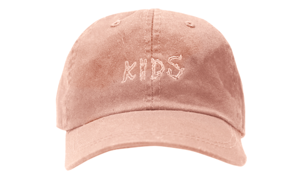 KIDS EMBROIDERED HAT BLUSH
