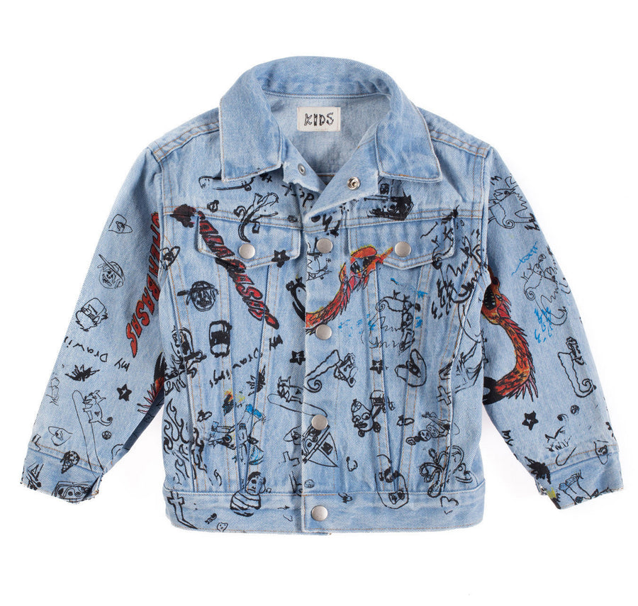 SKETCHBOOK DENIM JACKET