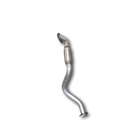 Back view of 2004-2008 Chevrolet Aveo Automatic 1.6L 4-Cylinder Exhaust Flex Pipe