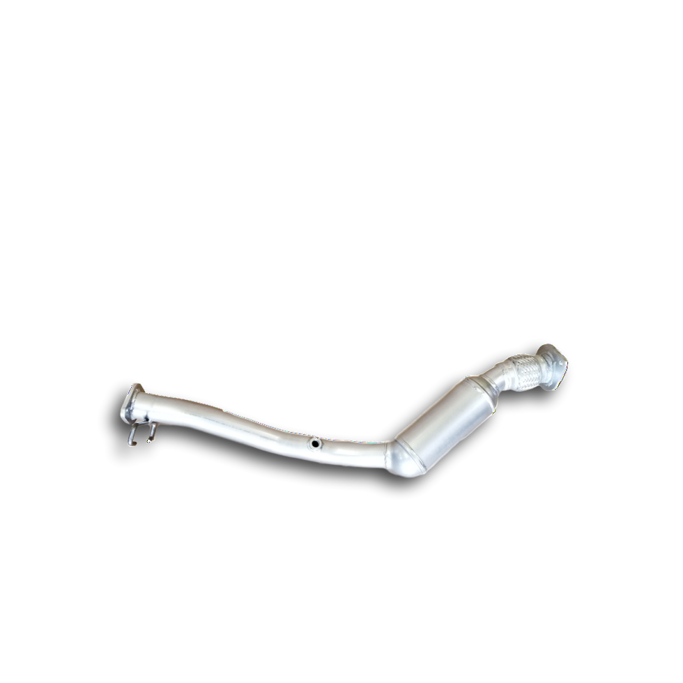 Front view of 2005-2009 Buick Lacrosse 3.8L V6 Catalytic Converter