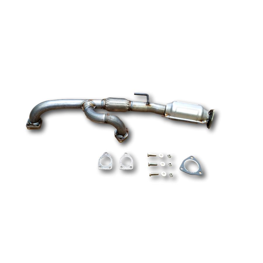 Honda Odyssey 3.5L V6 15-17 underbody Catalytic Converter with flex / ypipe