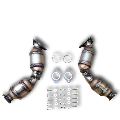 2015-2018 Infiniti Q70L Bank 1 and 2 Catalytic Converter 3.7L V6 PAIR