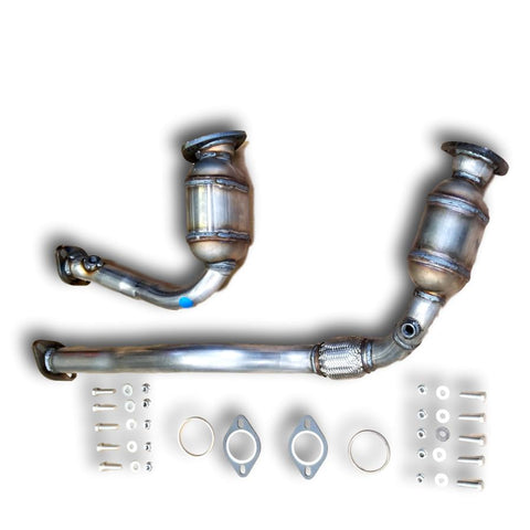 Saturn Vue 2008-2010 BANK 1 & 2 Catalytic Converter 3.6L V6 PAIR
