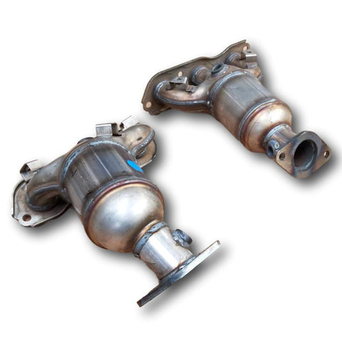 Mitsubishi Outlander 2007-2013 Bank 1 and Bank 2 Catalytic Converters 3.0L V6 SET