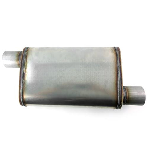 "Performance muffler 4"" x 9"" offset - offset"