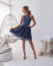 TORY DRESS - STEEL BLUE - Always the Sun Boutique