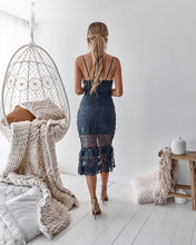 ESTELLE DRESS - STEEL BLUE (pre order) - Always the Sun Boutique