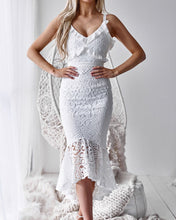 LEANNE DRESS - WHITE - Always the Sun Boutique