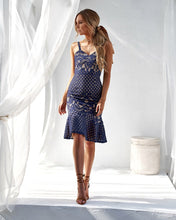 ELLA DRESS - NAVY - Always the Sun Boutique